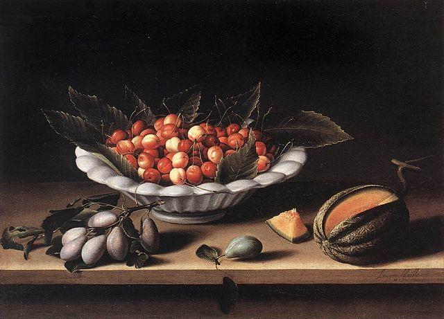 Louise Moillon nature morte - 1633- Louvre