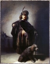 Portrait de Rembrandt en costume oriental