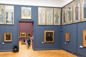 Louvre, peintures françaises