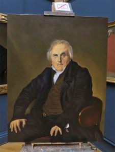 peinture en cours - copie Ingres