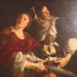 Judith et Holopherne peinture