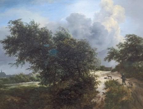 Détail de Ruisdael