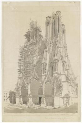 Cathedrale de Reims-Dauzatz
