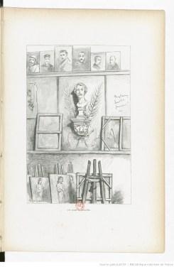 Extrait de L'École des beaux-arts dessinée et racontée par un élève... / Alexis Lemaistre