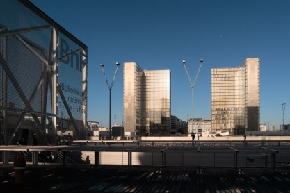 Vue de la Bibliothèque de France - ©MF