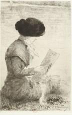 gravure tirées de L'Illustration nouvelle par une société de peintres-graveurs à l'eau-forte