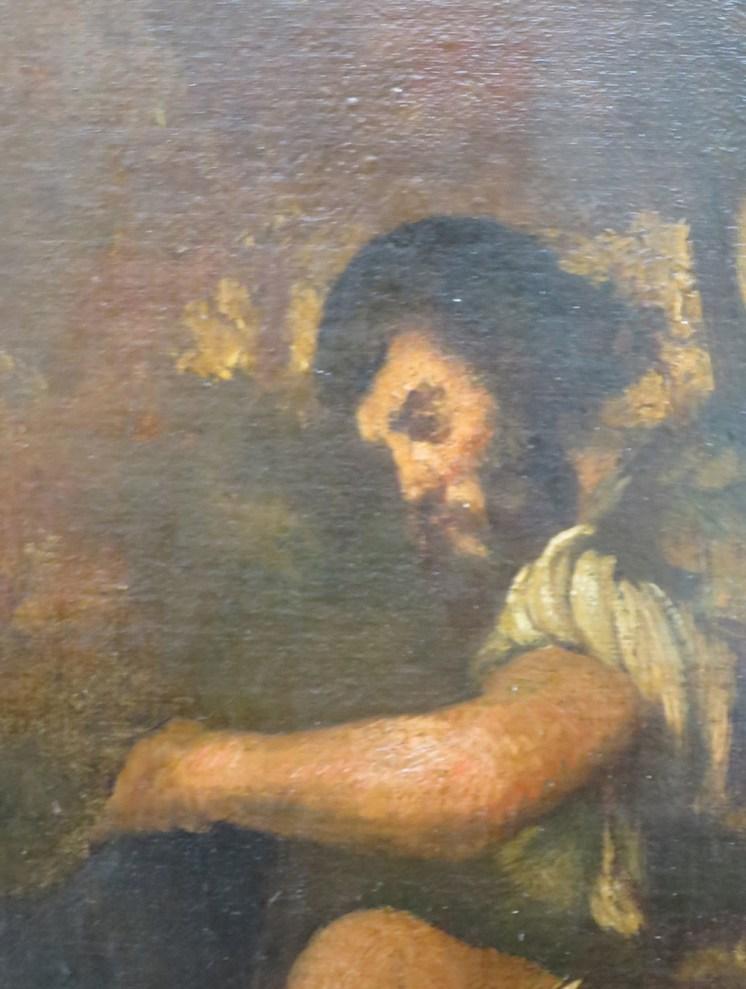 zoom sur le berger copie de Manet