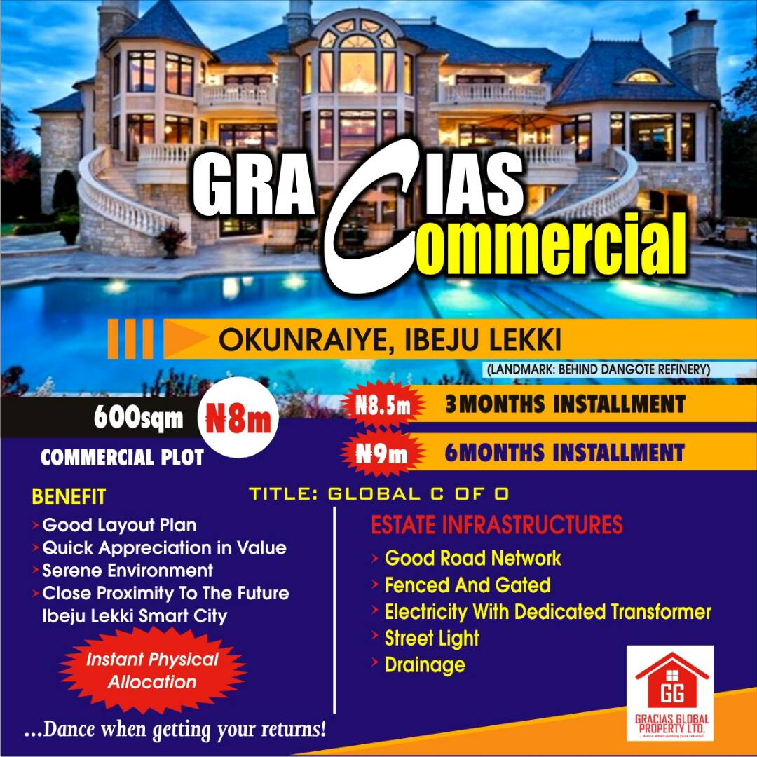 Gracias Commercial Land for Sale
