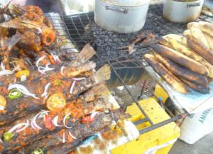 Bole and Fish a Popular Port Harcourt Delicacy