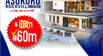 Asokoro Rock Villa Estate Amazing Offer in  Asokoro Extension, Abuja