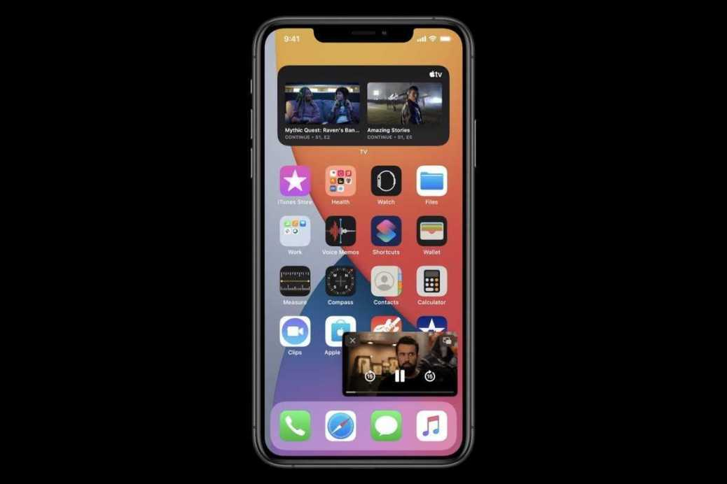 Resim içinde resim artık sadece iPad için değil.