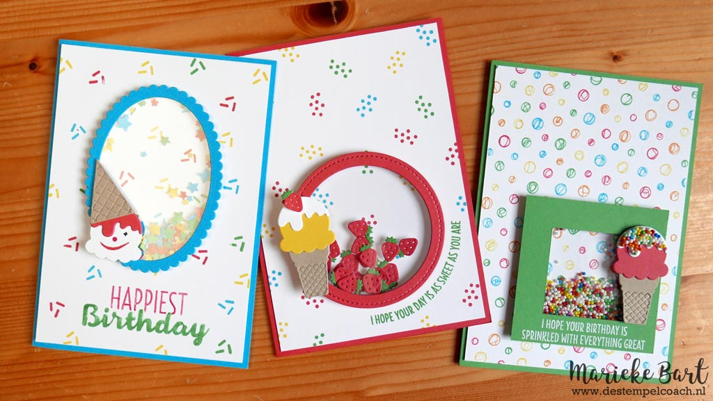 Stampin' Up! Cool Treats Stamp Set and Frozen Treats Framelits