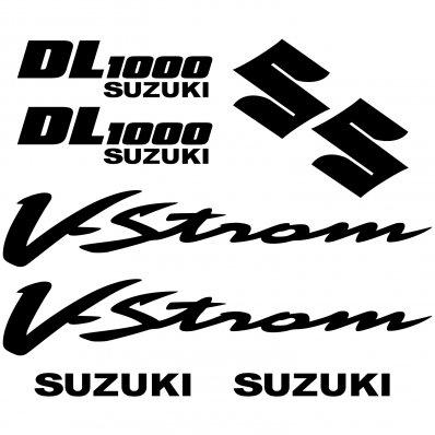 Suzuki DL1000 V-strom stickerset