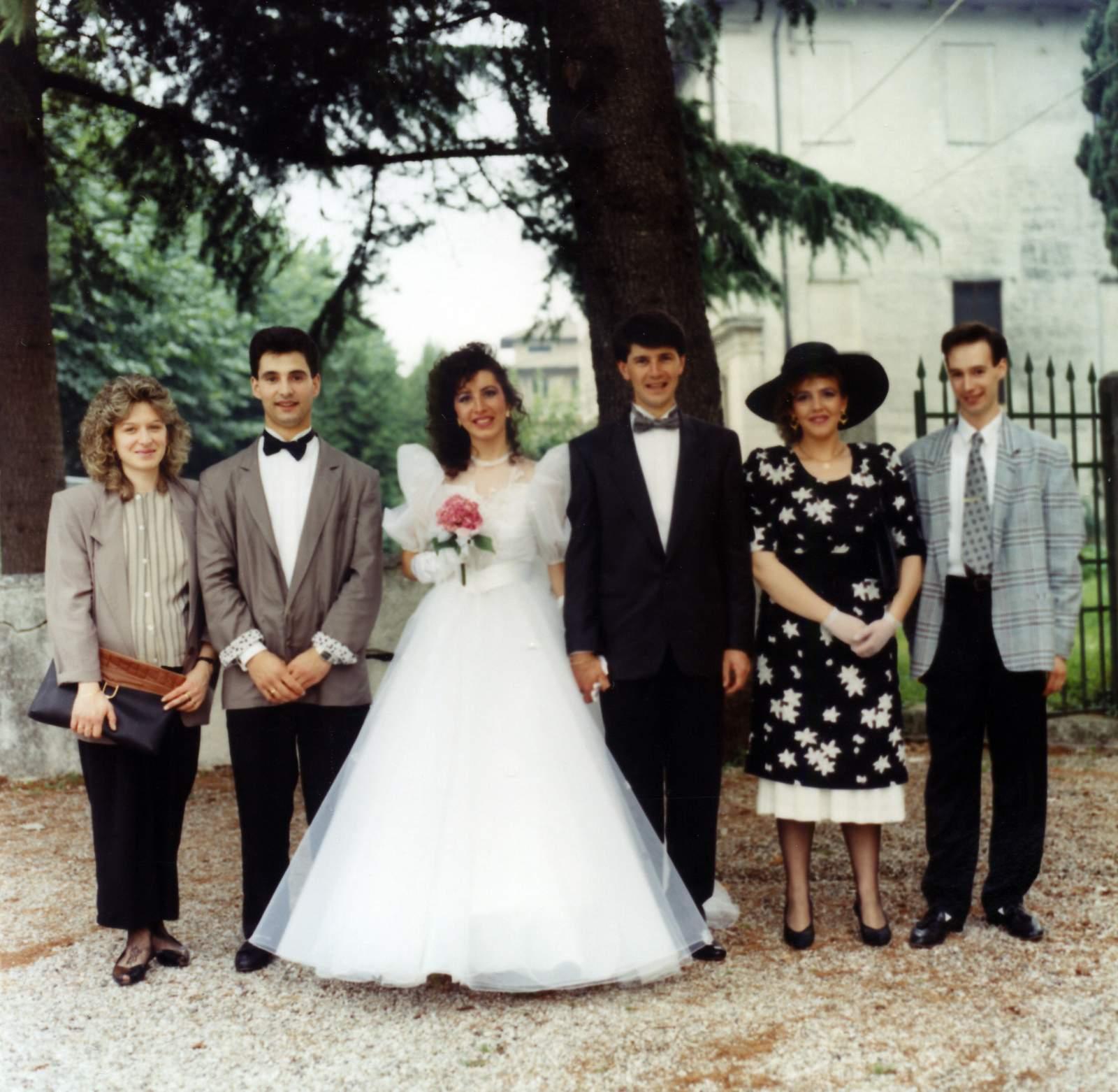 Foto famiglia Poloni Silvio e Mondin Anna Maria