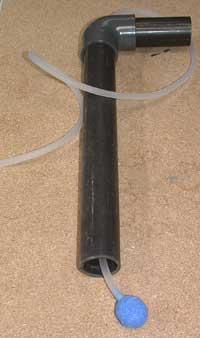 tube et exhausteur de filtration d'aquarium