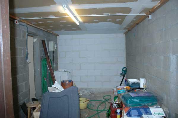 Le garage avant le locarium .