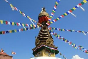 Jour 34 : Petit détour par l'ambassade de l'Inde, avant d'explorer à pieds… Katmandou !