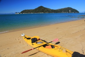 Jours 216 & 217 : En mode Kayak au Abel Tasman National Park !
