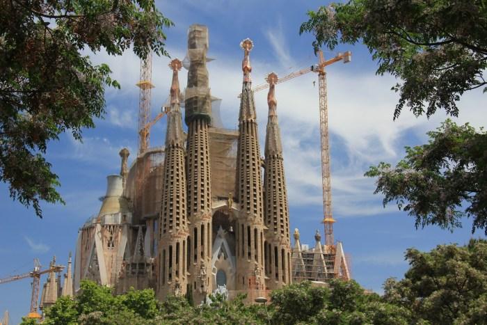 Sagrada Familia... still in progress !