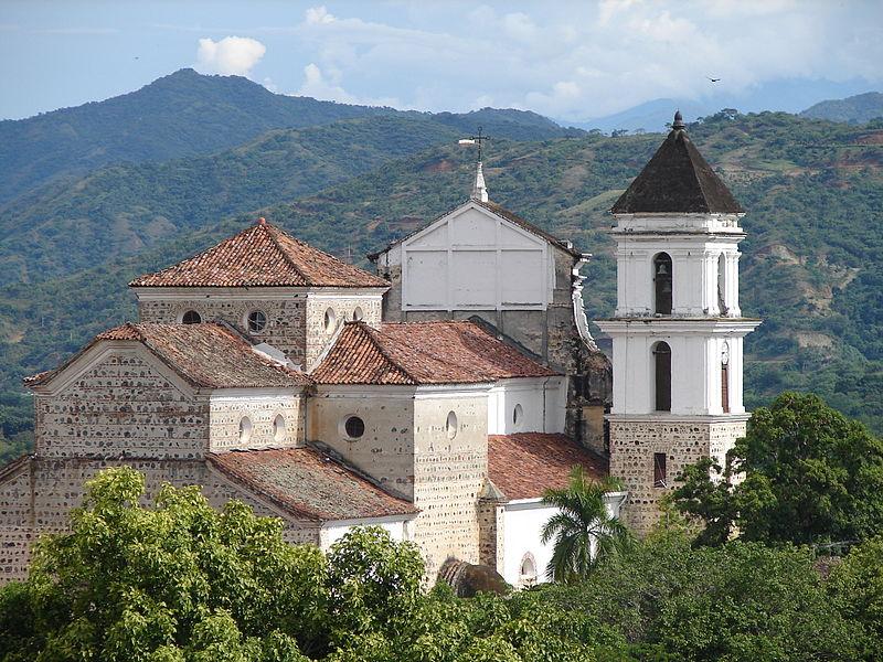 Santa Fé de Antioquia, témoin de l'époque coloniale.
