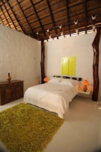 Belle chambre double de l'Hôtel Boutique Yararaka d'environ 30m2