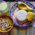 Ajiaco, plat traditionnel de Medellin