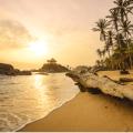 plage de la cote caribéenne