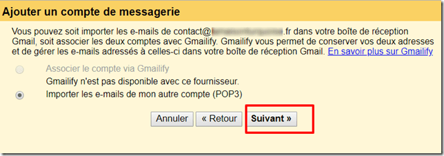configurer gmail5