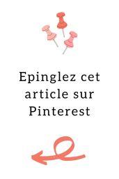 Sauvegardez cet article sur Pinterest