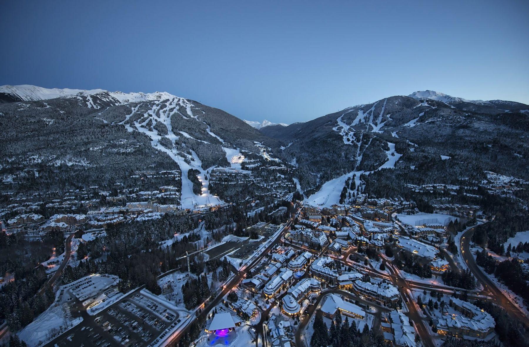 Ski Whistler  Colombie Britannique Canada  Destination Poudreuse