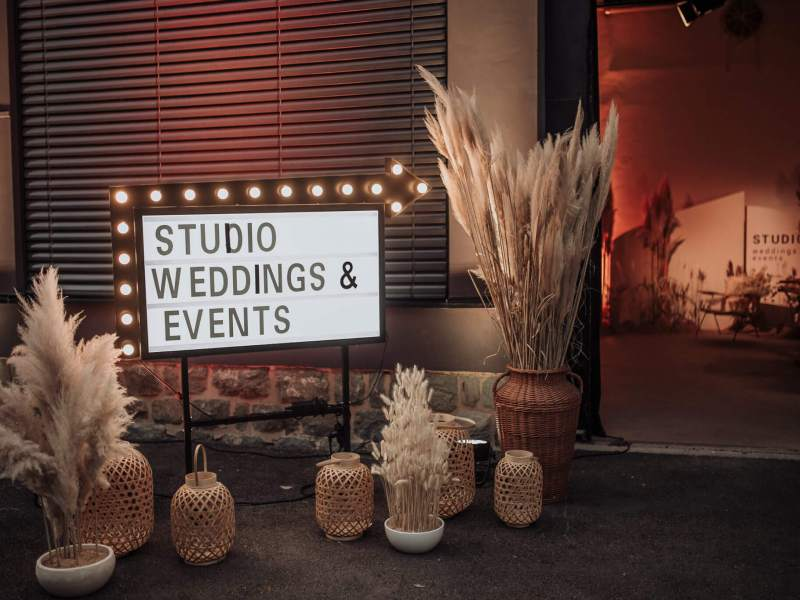 STUDIO WEDDINGS & EVENTS