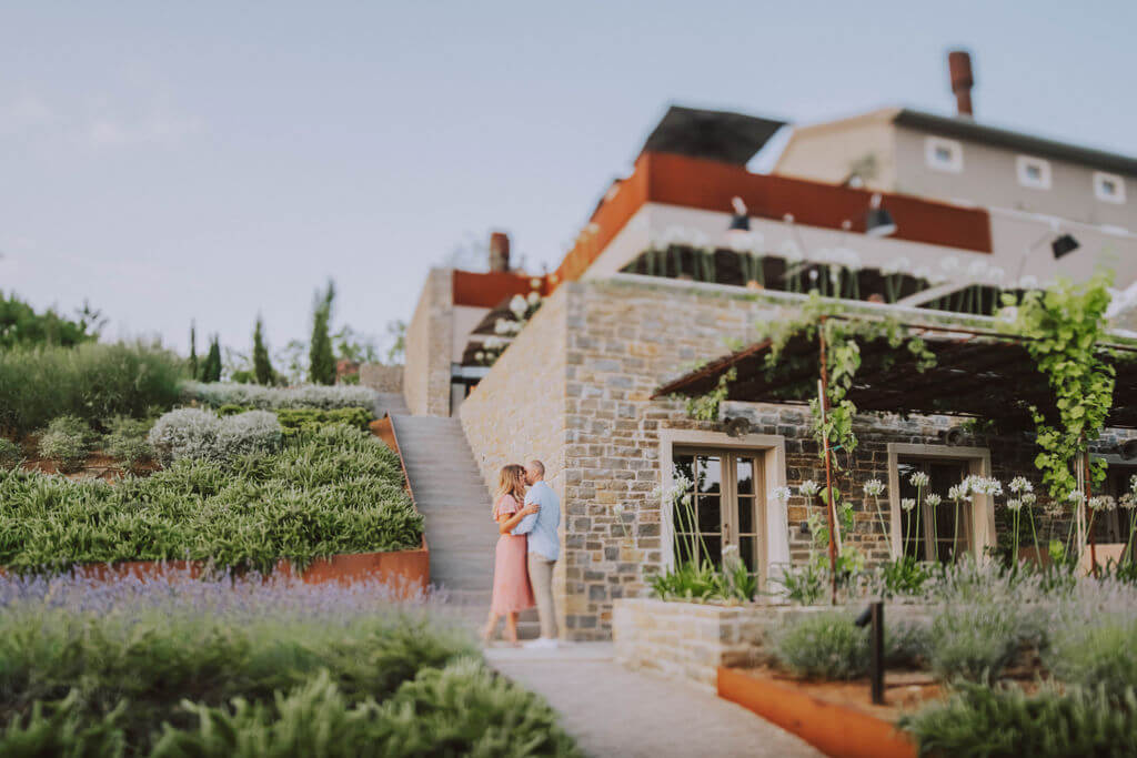 Surprise proposal in Istria