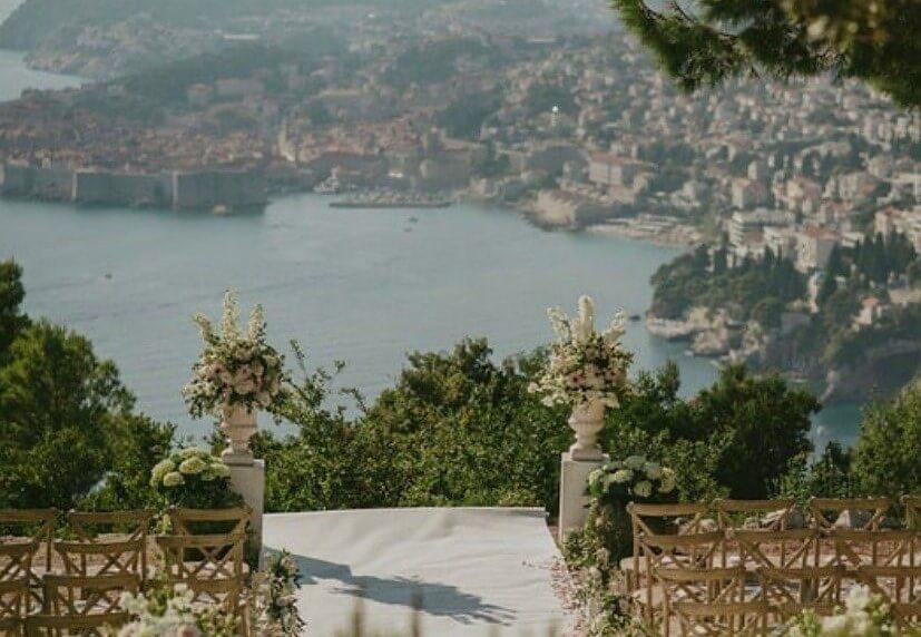 Ceremony locations in Croatia