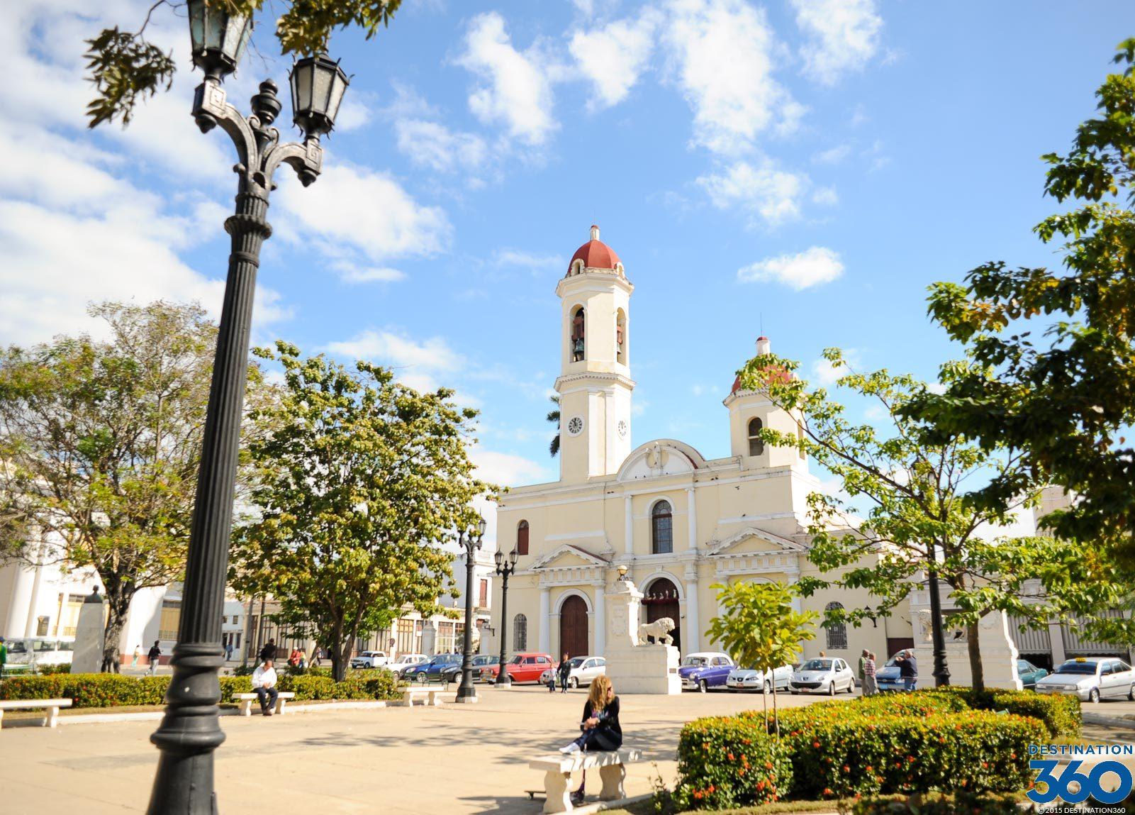 Cienfuegos Cuba  Parque Jose Marti
