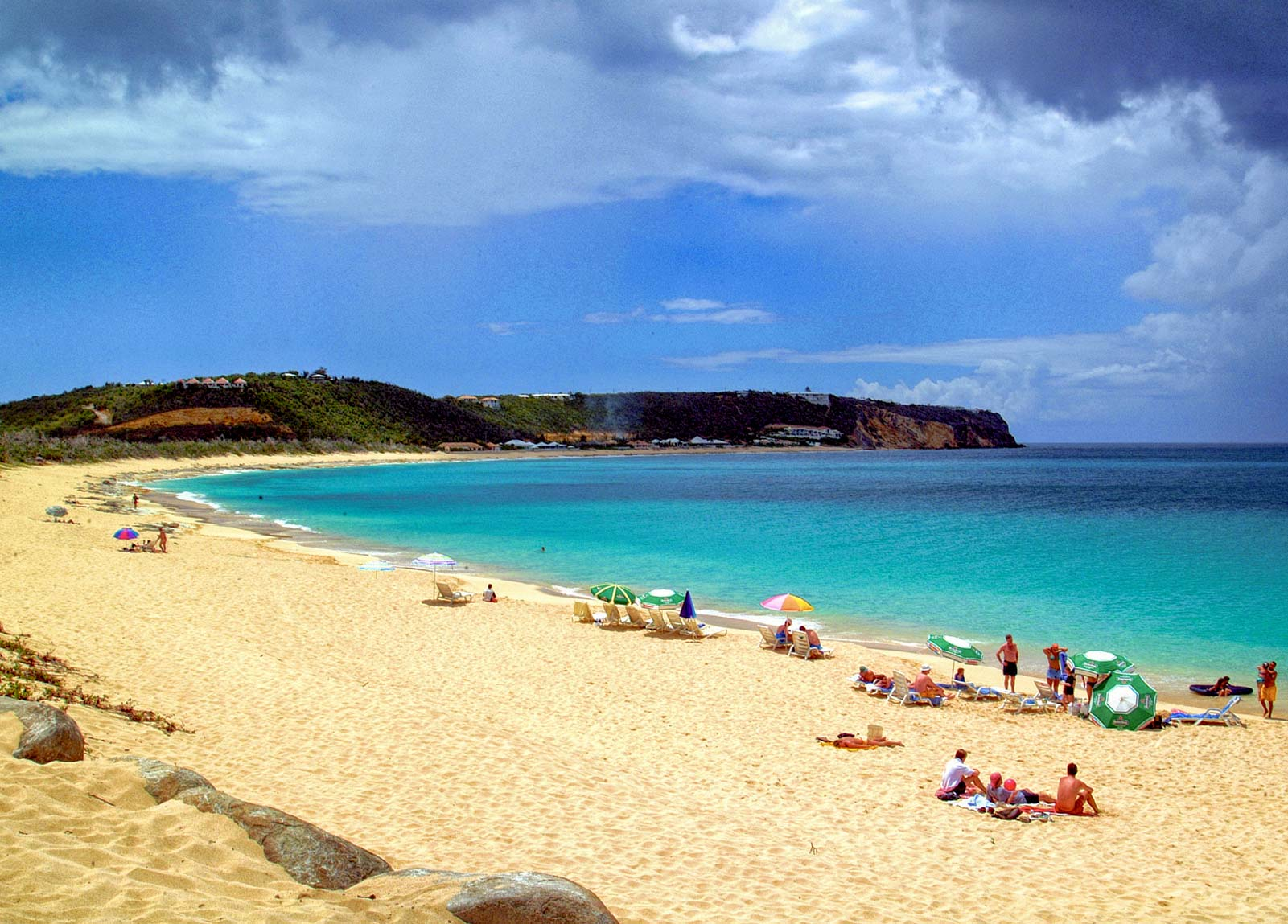 st martin beaches st