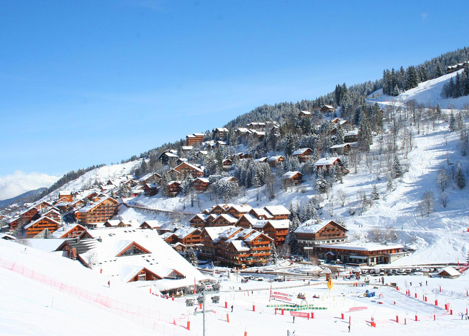 3 Valleys France  Les 3 Vallees Ski Resort  Worlds