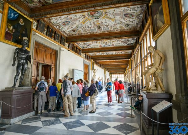 Florence Italy Uffizi Gallery Paintings