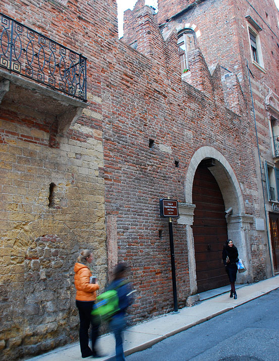 Casa di Romeo  Romeos House Verona Italy