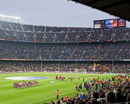 FC Barcelona  Camp Nou  Barcelona Soccer