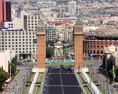Sants Montjuic  Montjuic Barcelona  La Bordeta