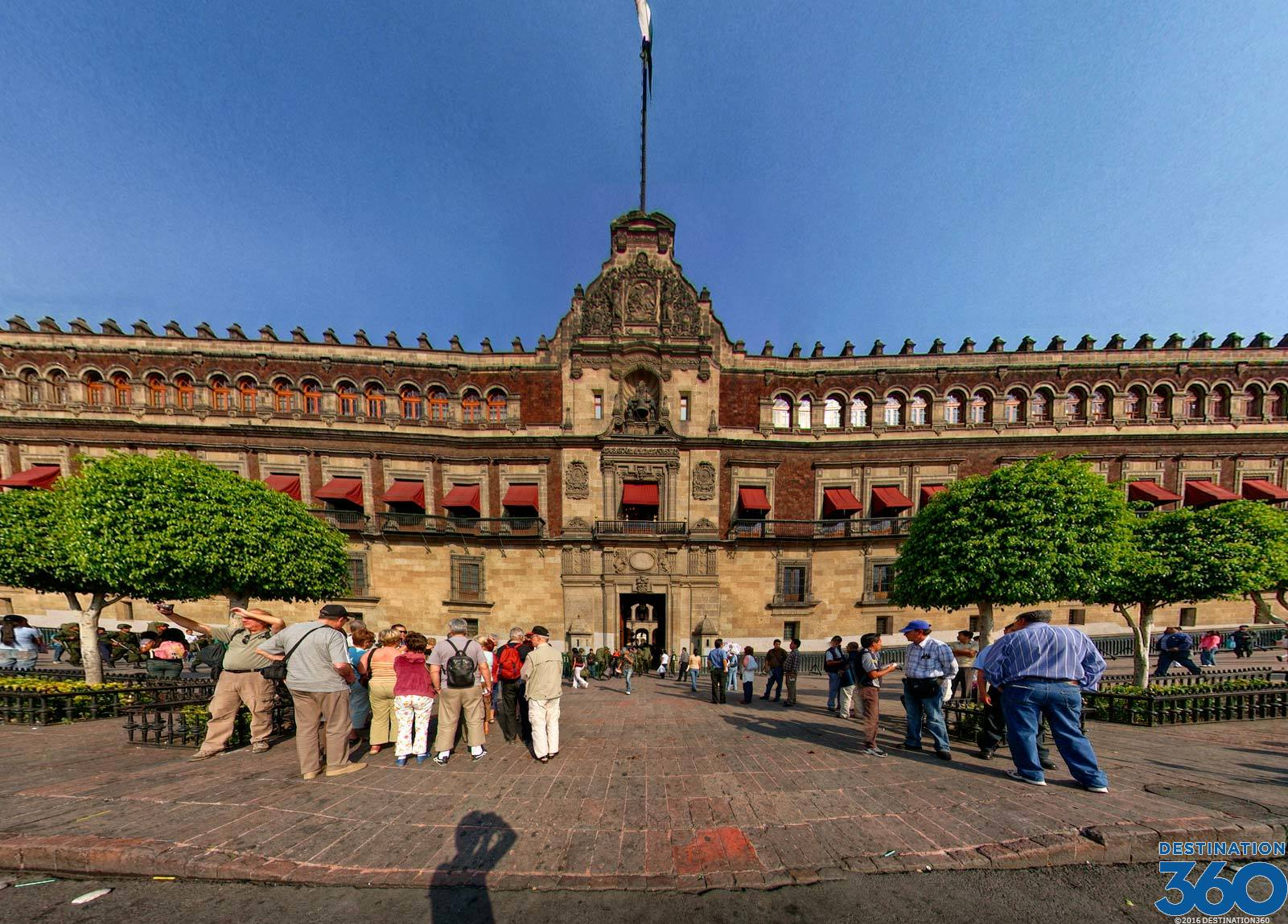 National Palace Mexico City Palacio Nacional