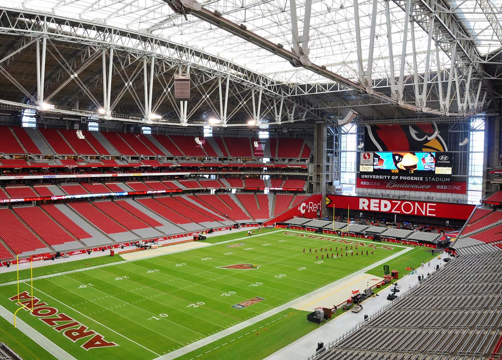 University of Phoenix Stadium  Arizona Cardinals Stadium