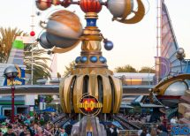 Fantasyland - Adventureland Tomorrowland