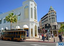 Rodeo Drive Los Angeles Shopping In