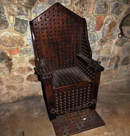 Torture Chamber  Castello di Amorosa