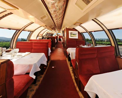Vista Dome Car  Napa Wine Train
