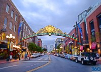 Gaslamp Quarter - Downtown San Diego
