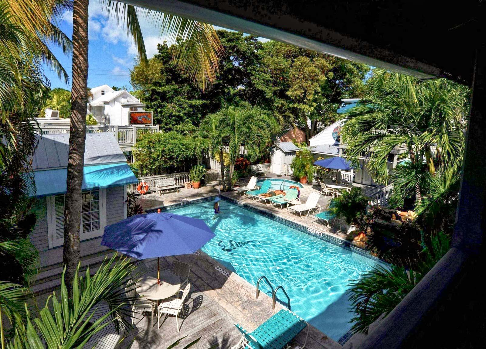 Eden House Key West  Eden House Hotel