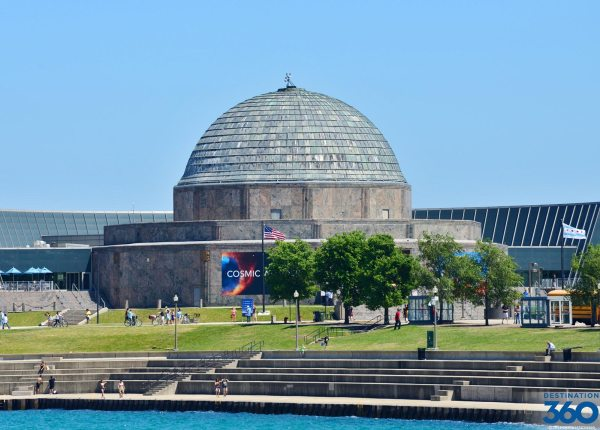 Adler Planetarium - In Chicago