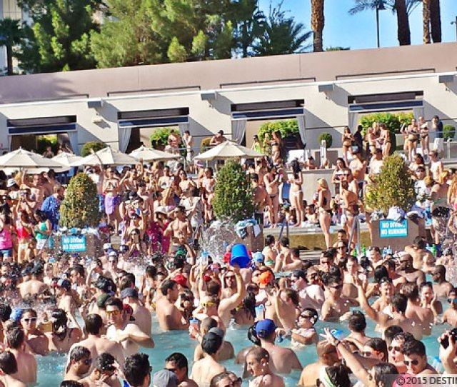 Pool Parties Spring Break